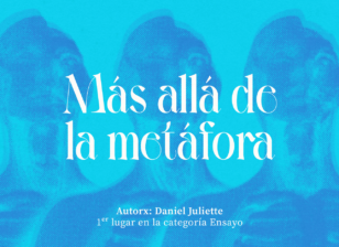 Más allá de la metáfora, escrito por Daniel Juliette
